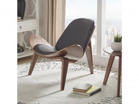 Rent Walnut Accent Chair