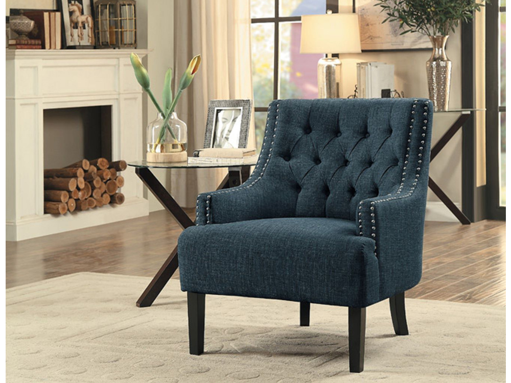 rent charisma accent chair purple