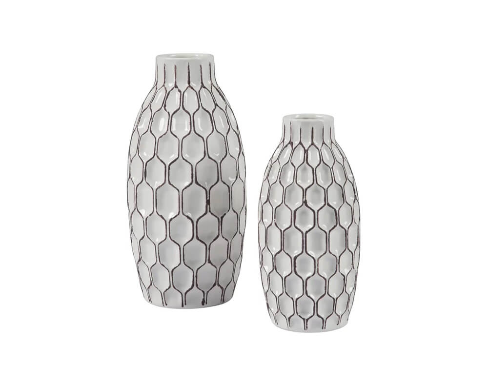 Shrine 2 Piece Vase Set