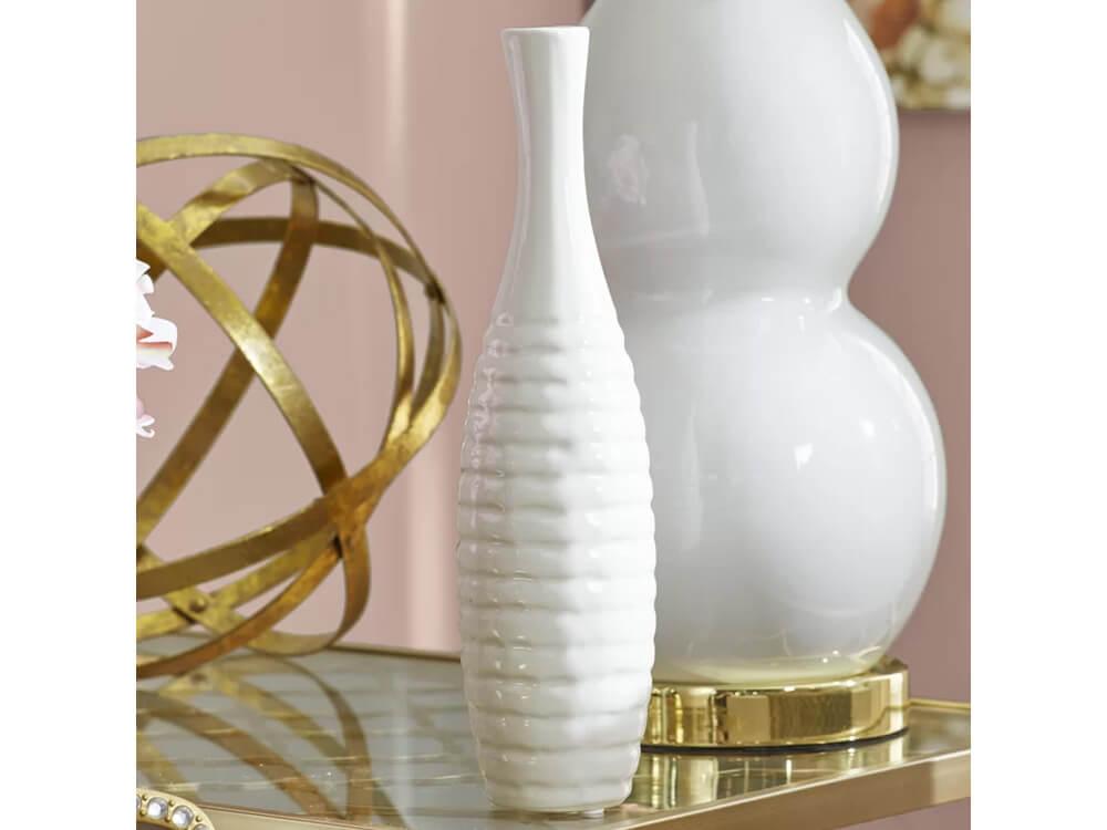 Rent Now White Bay Vase Set