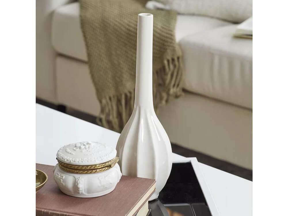 White Bay Vase Set