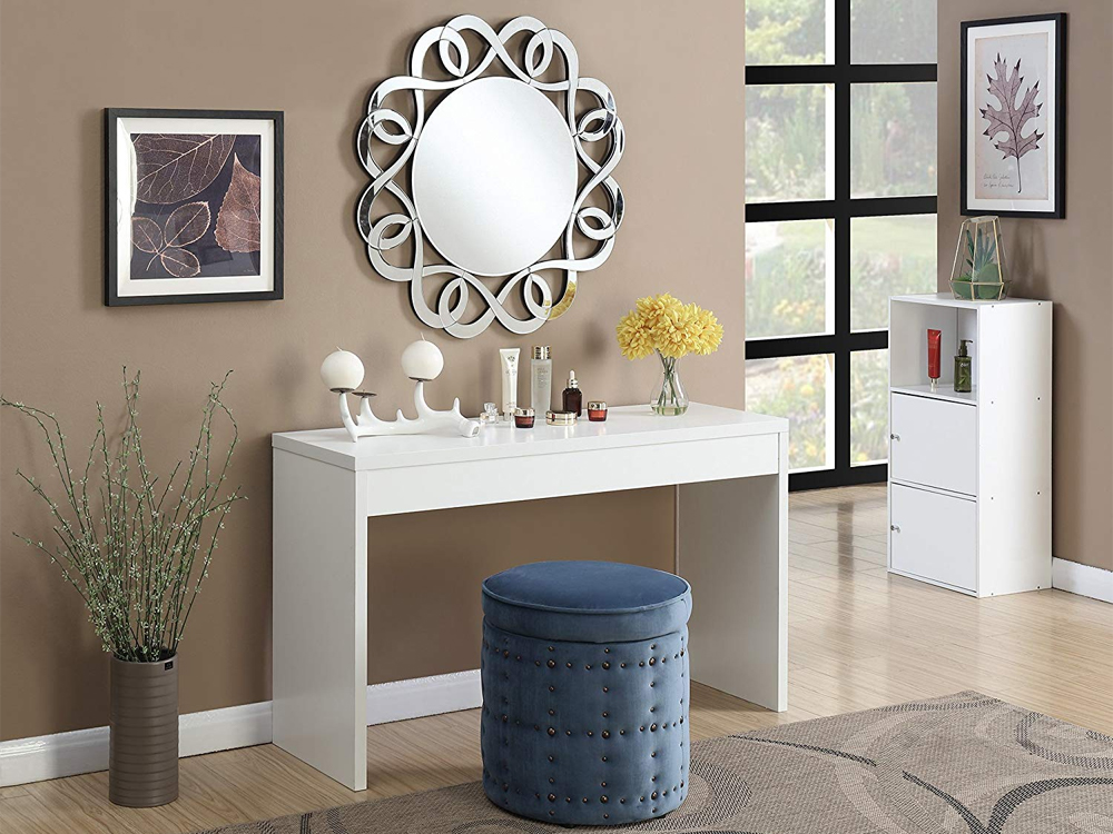 White Dove Console Table for Rent