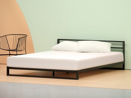 rent inhabitr 12 inch memory foam mattress