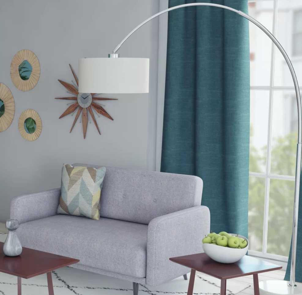 Rent Inhabitr Arch Floor Lamp