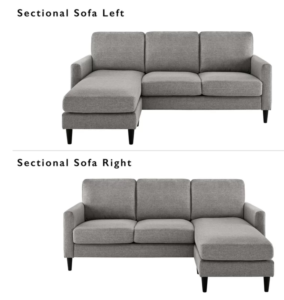 Nova Sectional both sides image