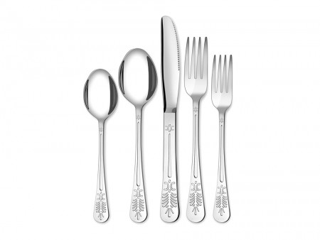 Pearl silverware set for 4