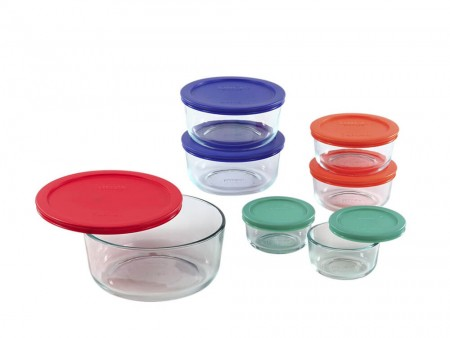 Emerald food storage containers