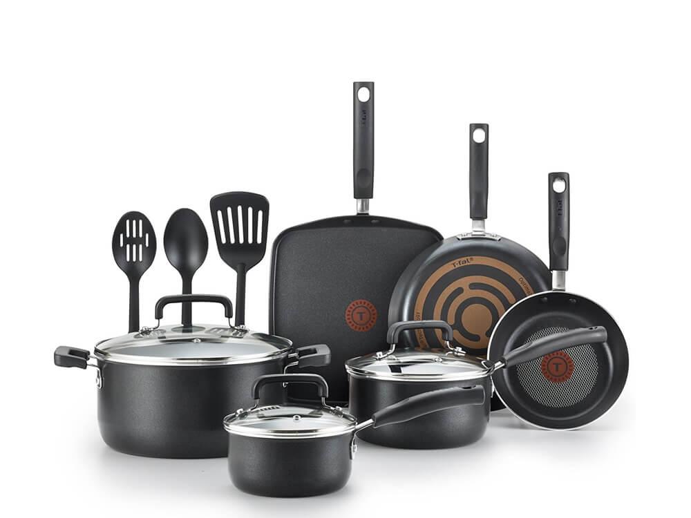 Inhabitr cookware set (12 pieces)