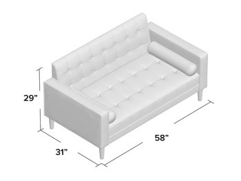 Grey Jena Sofa 4