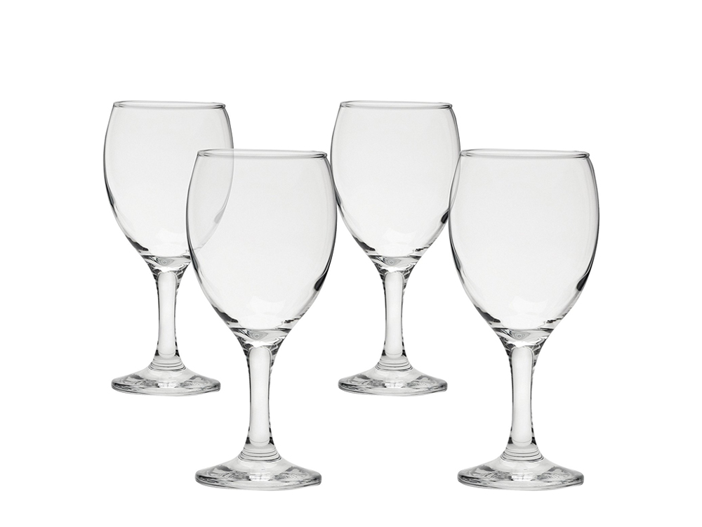 Inhabitr wine glasses (set of 4)