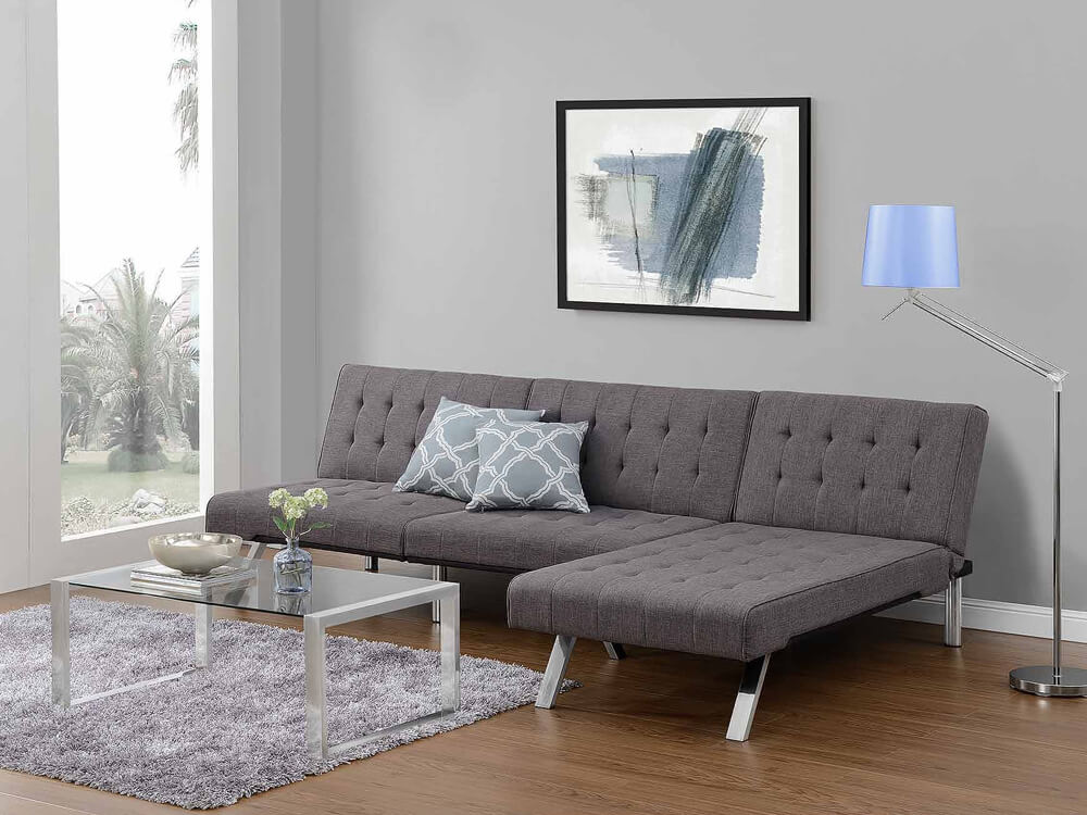 rent kunis sectional sofa