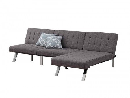 Convertible Jet Kunis Sectional