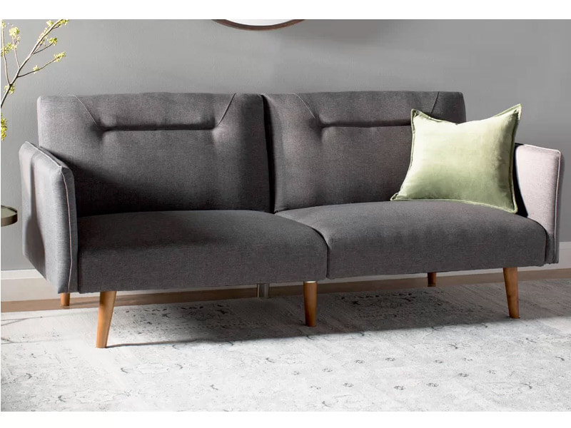 Full Grey Posh Sofa 5