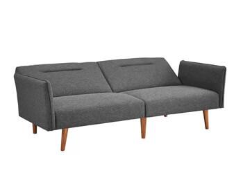 Full Grey Posh Sofa 3
