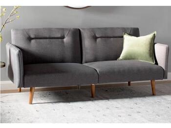 Full Grey Posh Sofa 5