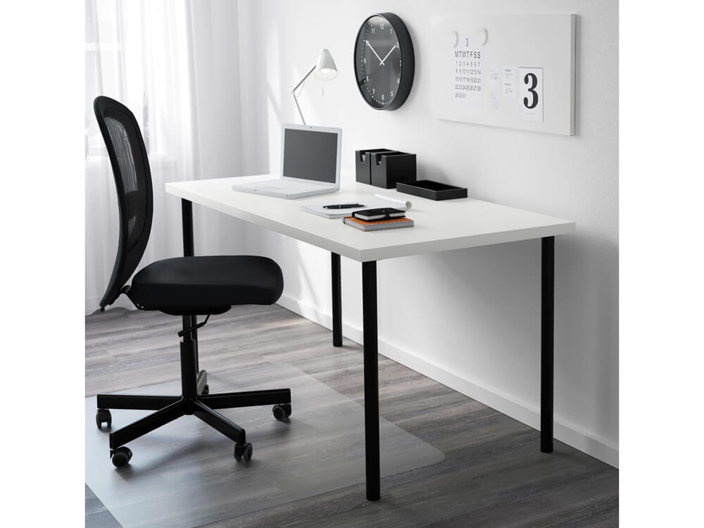 rent slim white table
