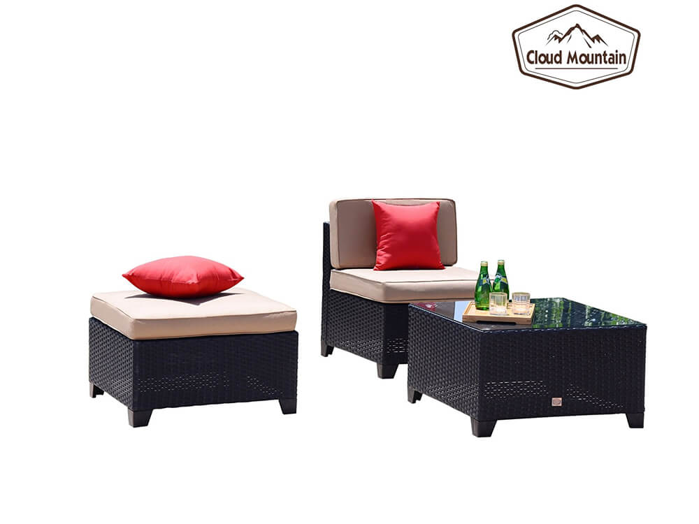 inhabitr 5 piece outdoor sofa