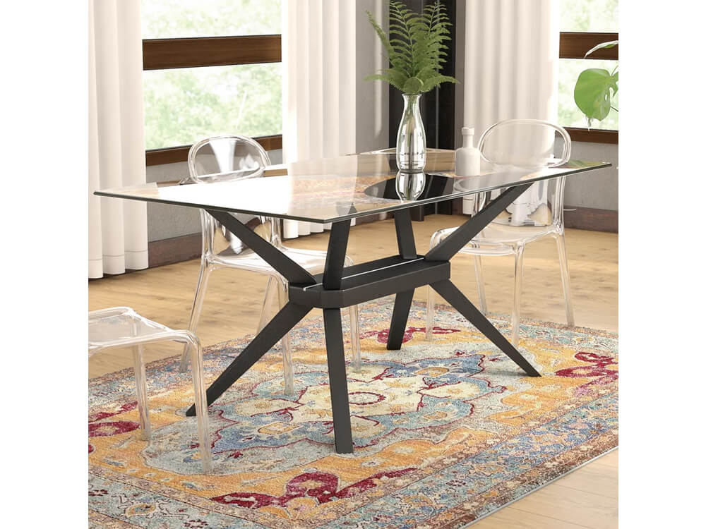 rent now venus dining table
