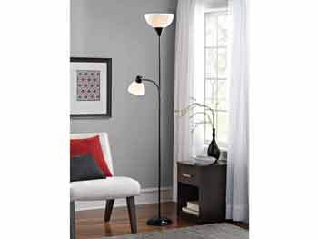 Black Wave Floor Lamp 2