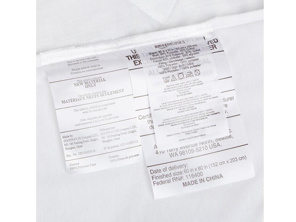 poly cotton mattress pad
