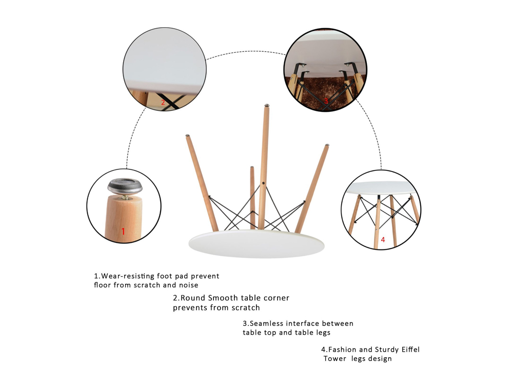 Mesmerize Dining Table Spec