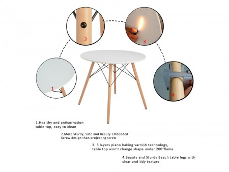 Rent Now Mesmerize Dining Table