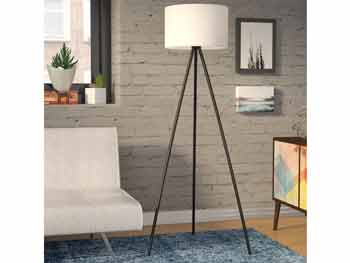 Black Wolf Floor Lamp 3