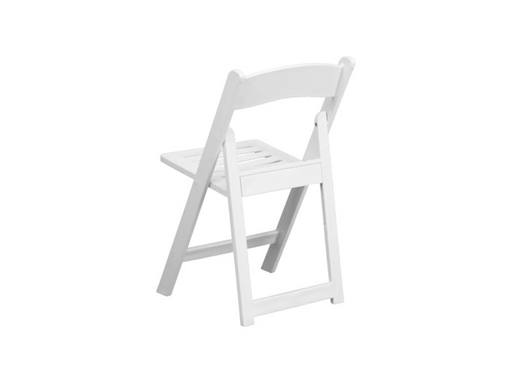 rent now 4 piece white chairs