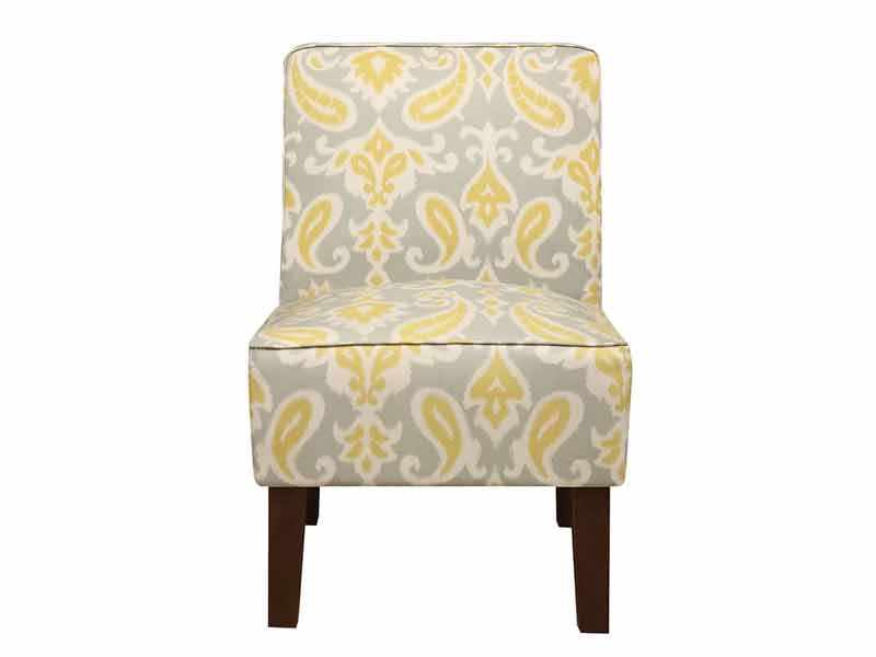 Light Cream Jake Accent Chair 2