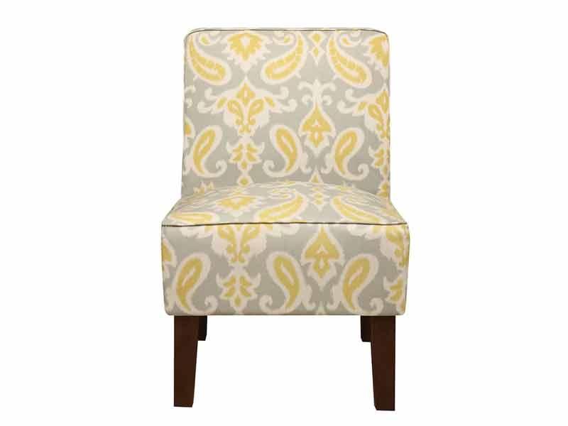 Light Cream Jake Accent Chair 2