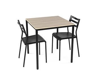 Black Bella Dining set 1