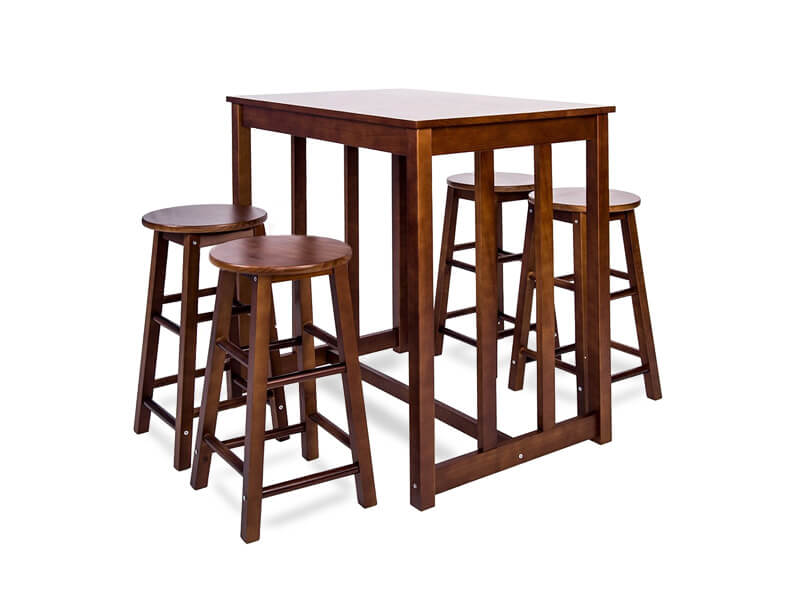 Walnut Edward Dining Set 1
