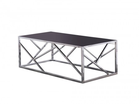 Galleria Black Glass Top