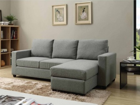 Rent Small Space Convertible Troy Sectional
