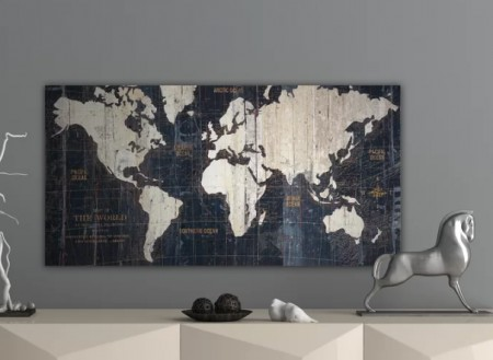 World Map Artwork