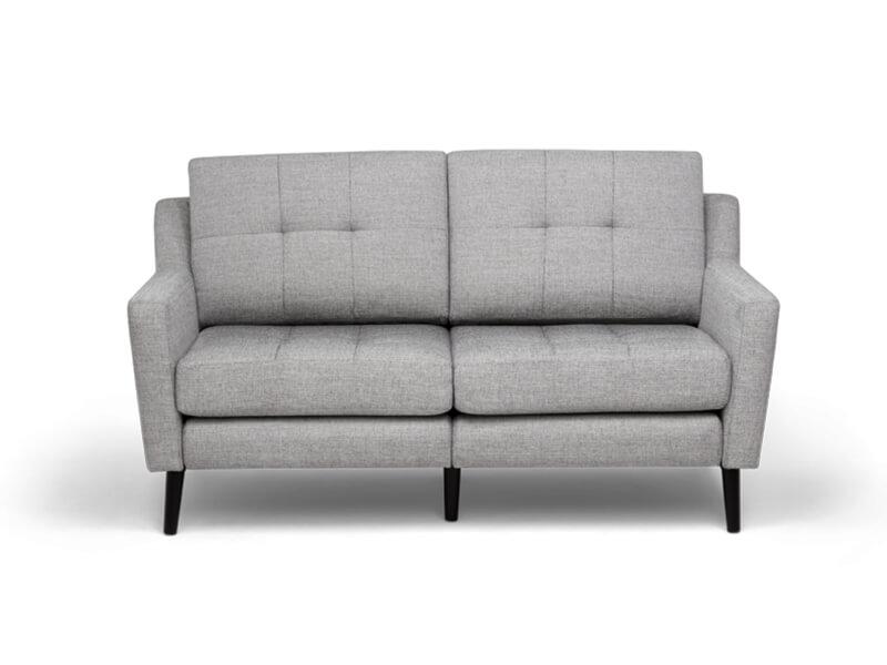 Grey 2 Seater Burrow Sofa 2