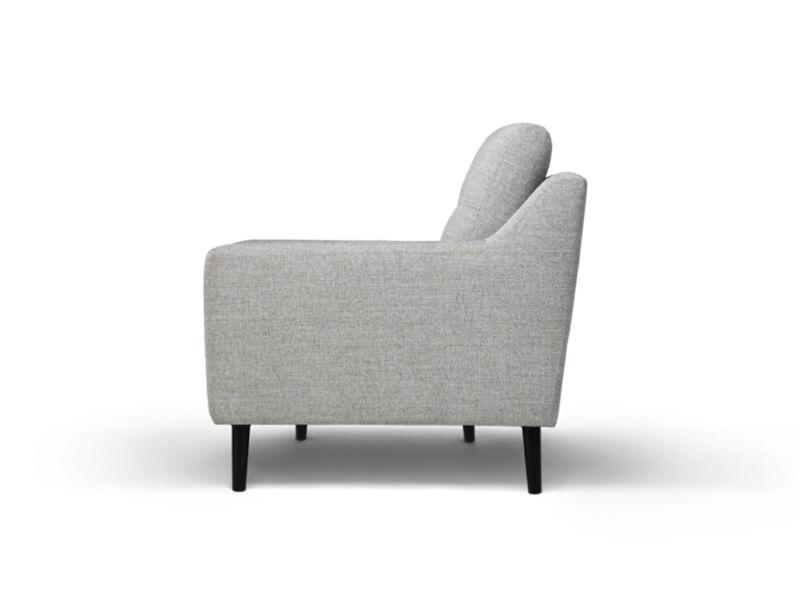 Grey 2 Seater Burrow Sofa 3