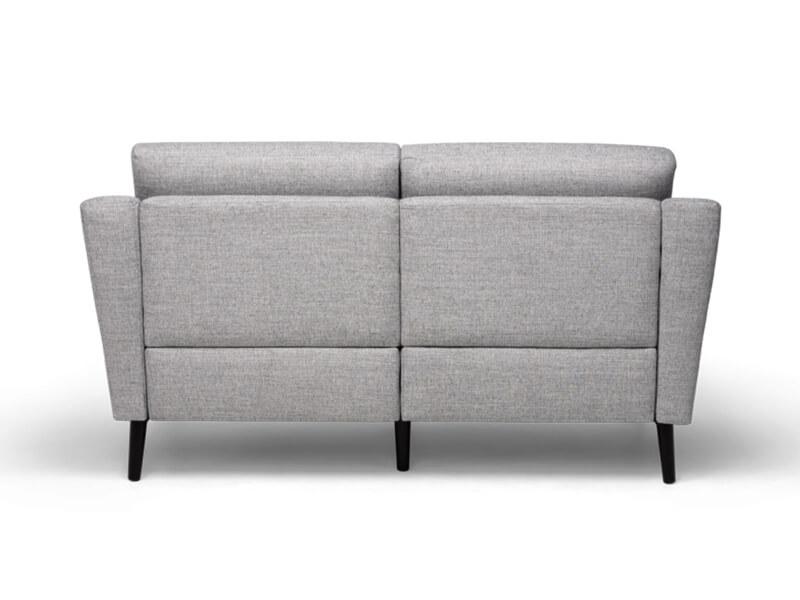 Grey 2 Seater Burrow Sofa 4