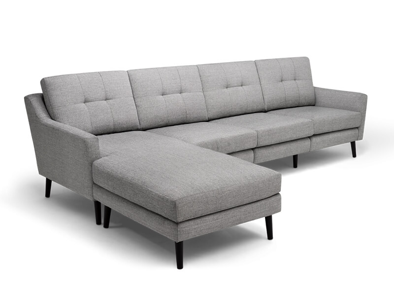 Grey Sectional Burrow Sofa 1