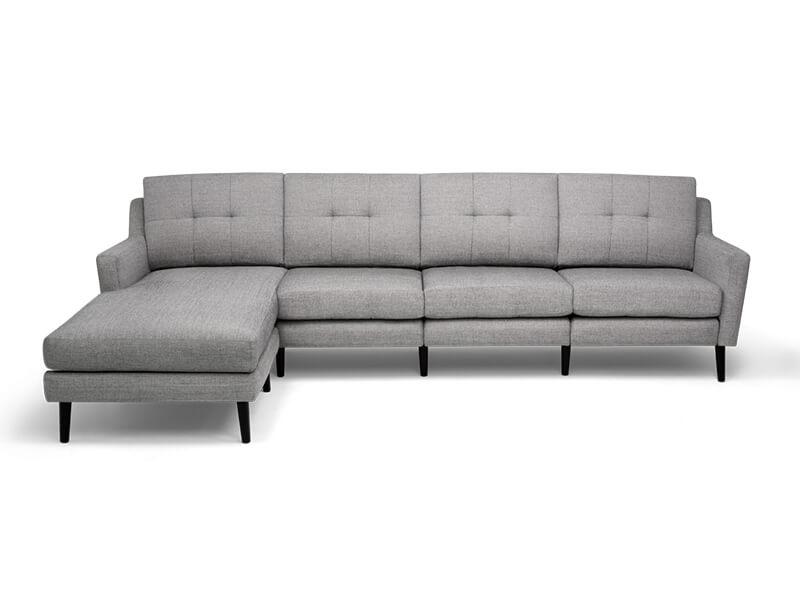 Grey Sectional Burrow Sofa 2