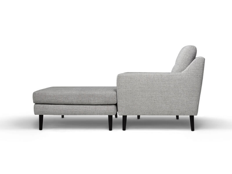 Grey Sectional Burrow Sofa 3