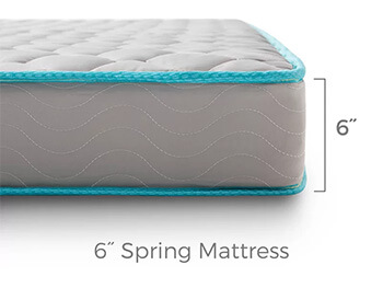 6inch King Innerspring Mattress 5
