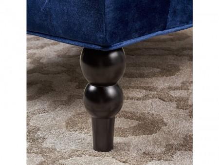 blue sapphire accent chair