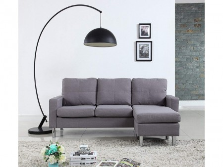 modern troy sectional sofa for rent