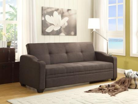 rent caf sleeper sofa gray