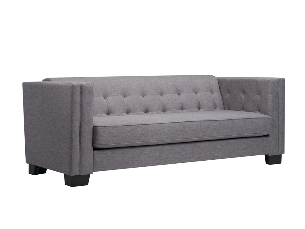 Jay 3 Seater Sofa Light Grey