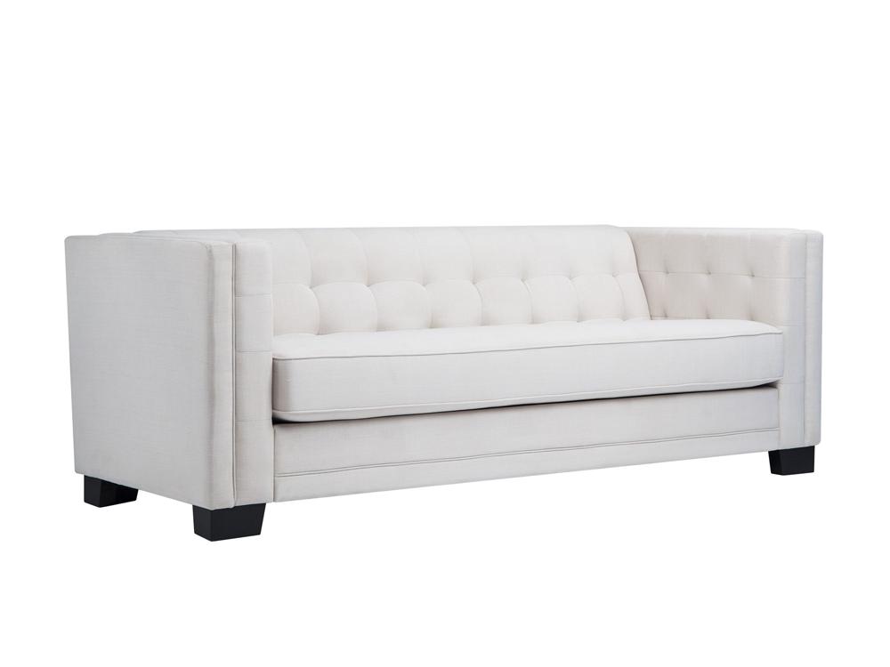 Jay 3 Seater Sofa Ivory