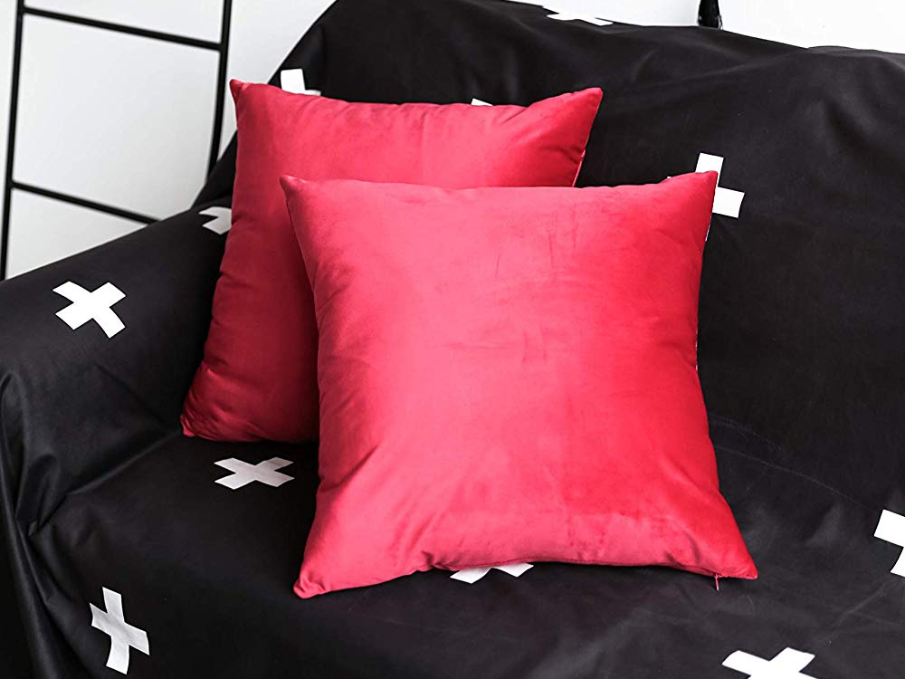 Rent Red Pillows