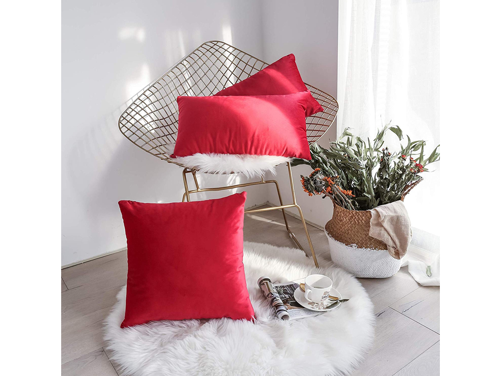 Red Pillows for rent