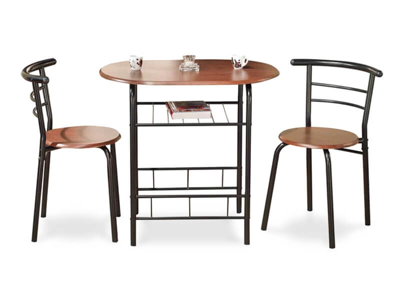 Brown Fullerton Dining Set 1